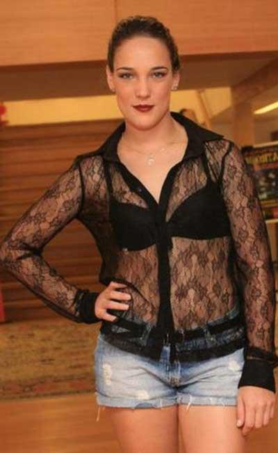 blusas transparentes da moda