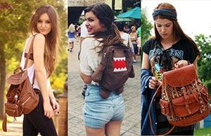 fotos de bolsas para faculdade