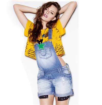 modelos de macacões jeans