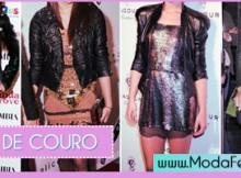 modelos de jaquetas de couro femininas