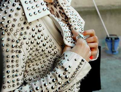 jaquetas de couro femininas