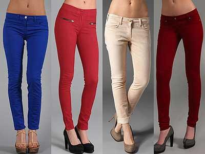 fotos de calças jeans