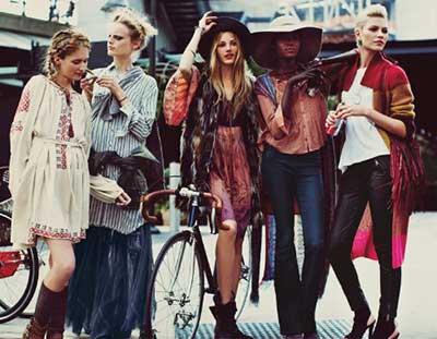tendências da moda hipster