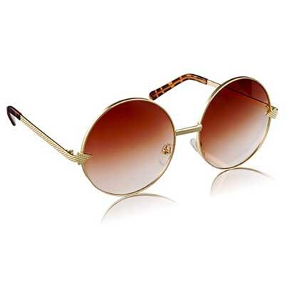 óculos redondos de sol