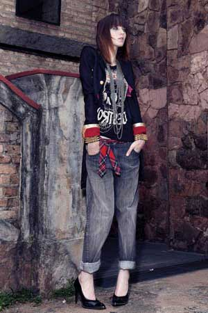 roupas para punks