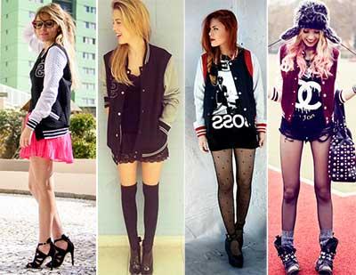 modelos e fotos de blusas college