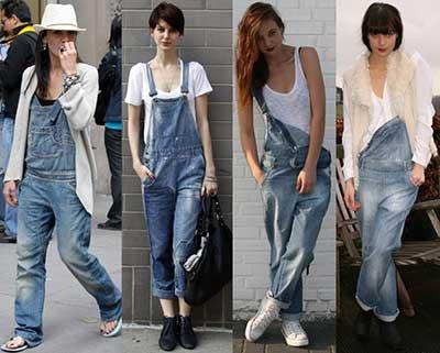 dicas de macacões jeans