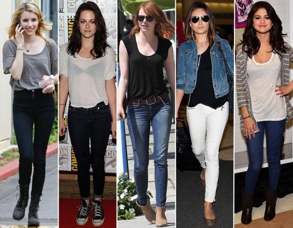 looks estilosos: imagens de roupas