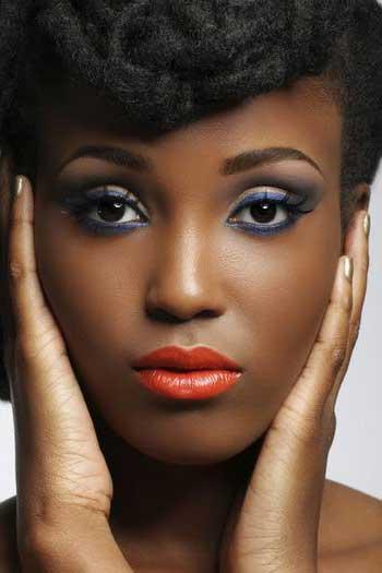 maquiagem para negras