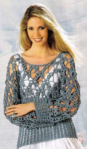 imagens de vestidos de croche