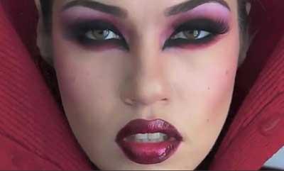 dicas de maquiagem de vampira