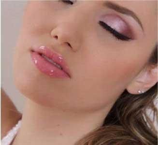 Maquiagem para Noiva na cor rosa