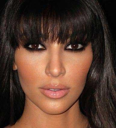 fotos de maquiagem com olho preto