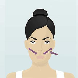 dicas de maquiagem para rosto redondo