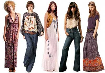 Roupas anos 80 modelos fotos dicas e looks - Moda hippie anos 70 ...