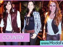 dicas de moda country