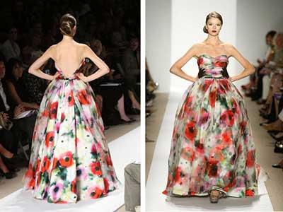 looks floridos da moda