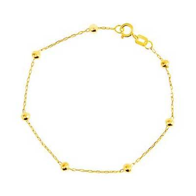 pulseira de ouro femininas