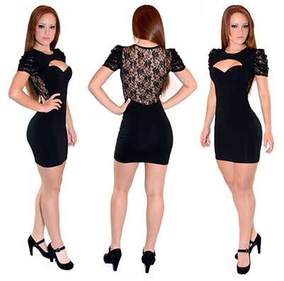 moda de vestidos lindos