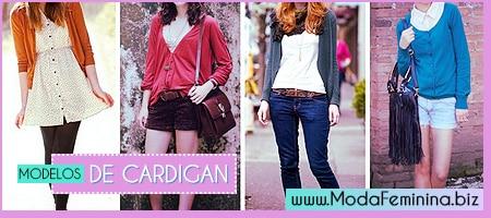 fotos de modelos de cardigan feminino