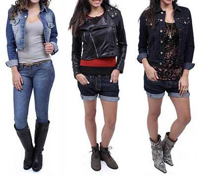 modelos da moda country