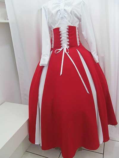 imagens de saias de prenda