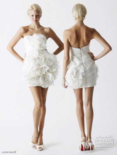 vestidos de noiva curtos para festa