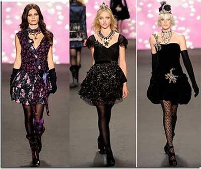 modelos de roupas góticas