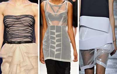 roupas transparentes