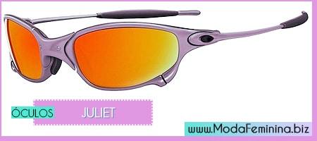 modelos de óculos juliet