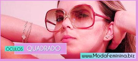 modelos de óculos quadrados