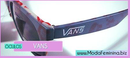 modelos de óculos vans feminino