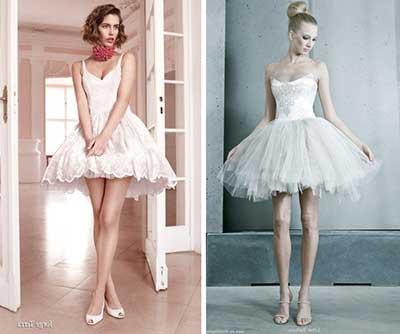 dicas de vestidos de noiva curtos