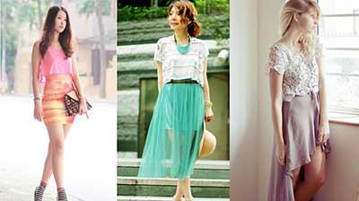moda cropped com sobreposição
