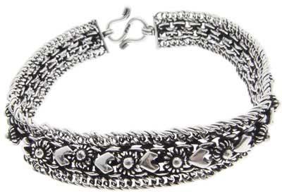 imagens de pulseiras de prata
