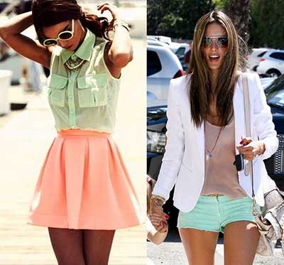 tendências de looks elegantes
