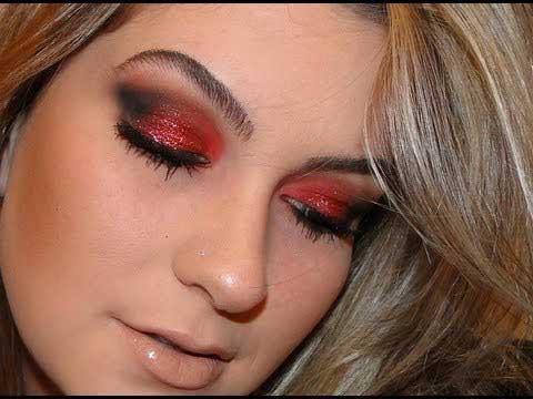 vídeos de maquiagem para noite
