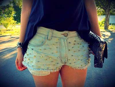 shorts com spikes