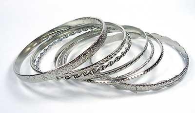 pulseiras de prata femininas