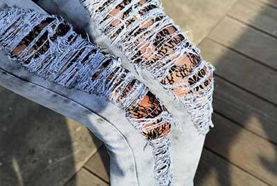 calças rasgadinhas