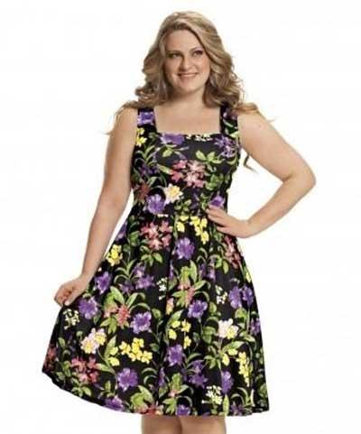 tendências de vestidos estampados