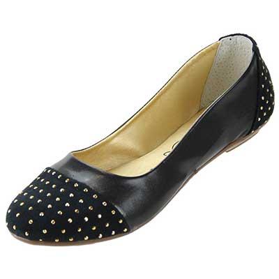 sapatilhas pretas da moda