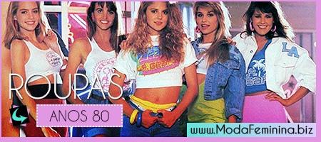 fotos de roupas anos 80