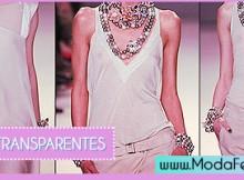 como usar roupas transparentes