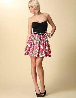 modelos de saias de cintura alta