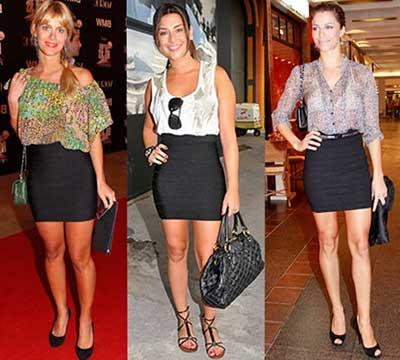 fotos de saias de cintura alta