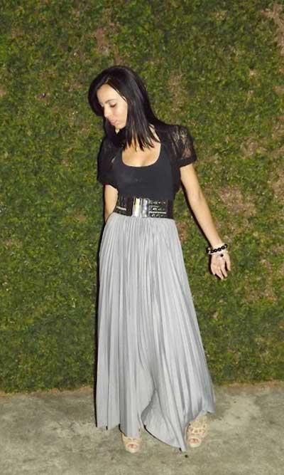 imagens de saias longas