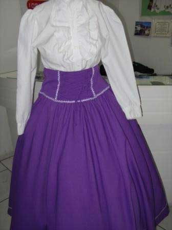 modelos de saias de prenda