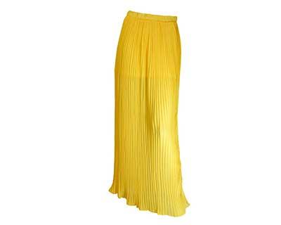 imagens de modelos de saias plissadas