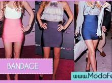 modelos de saias bandage